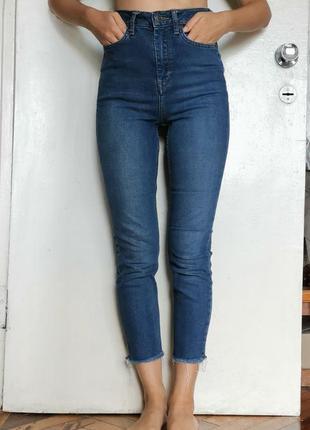 Укороченые джинсы topshop moto