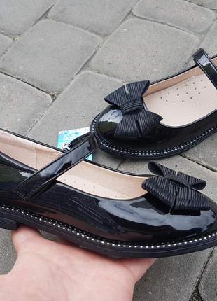 Лаковые туфли для девочки супинатор туфлі для дівчинки р.29-33 наложенный платеж