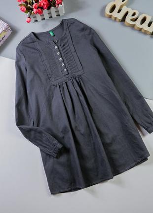 Хлопковая блузка на  8-9 лет/140 см