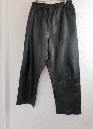 Итальянские кожаные штаны boncetti