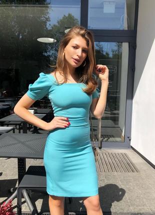 Новое элегантное платье со спущенными плечами