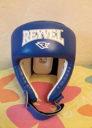 Шлем reyvel борцовский кожаный