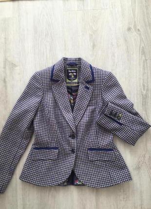 Жакет пиджак 100% шерсть boden