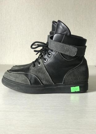 Ботинки 34 р. кожа /мех