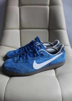 Nike post match мужские замшевые кроссовки