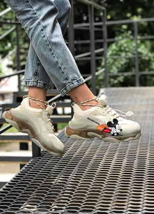Италия balenciaga triple s женские брендовые кроссовки 🆕 брендовые баленсиага трипл с