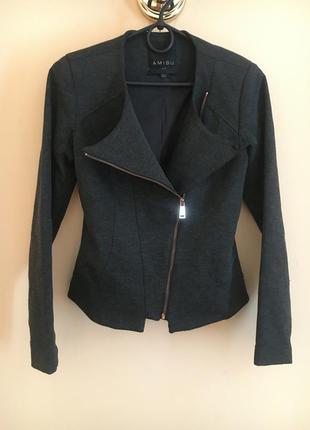 Классная стильная куртка жакет пиджак косуха