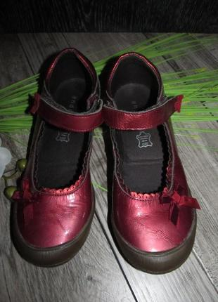 Туфли кожаные andre р.34 - 21,5 см.