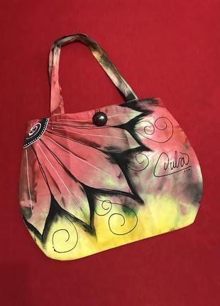 Уникальная сумка ручной росписи