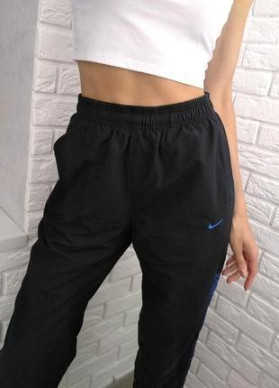 Спортивные штаны nike, высокая посадка