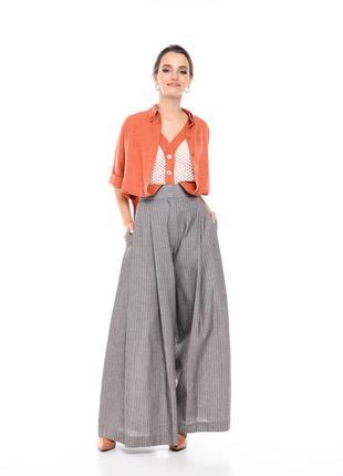 Элегантный стильный женский летний костюм из льна от west wood