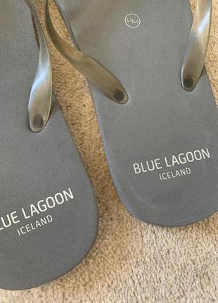 Вьетнамки шлепки пляжные мужские blue lagoon