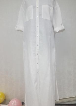 Yessica льняное платье