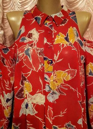 Блуза топ next блузка цветочный принт