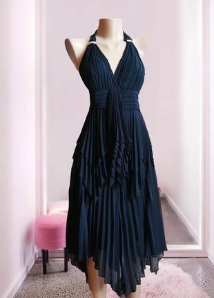 Плиссированный костюм, платье , юбка , блуза италия