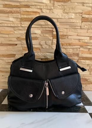 Новая классическая - повседневная сумка через плечо /клатч / кроссбоди