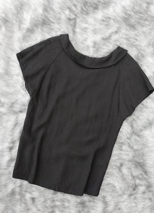 Блуза топ кофточка с отложным воротничком tu