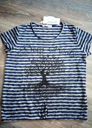 Кофта летняя, кофточка со стразами, футболка