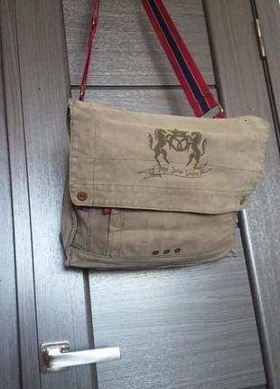 Мужская сумка на плечо pepe jeans london
