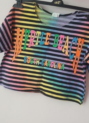 Фирменная футболка майка