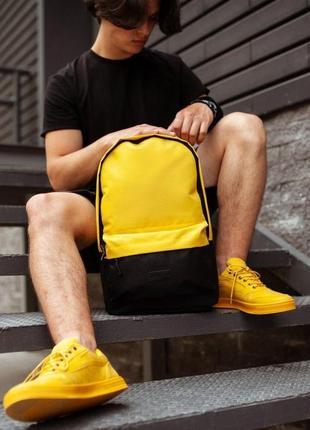 Рюкзак south classic black\yellow 🌶