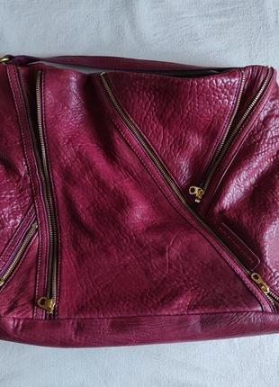 Подлинная большая деловая сумка  от marc jacobs leola zip large hobo.2 фото