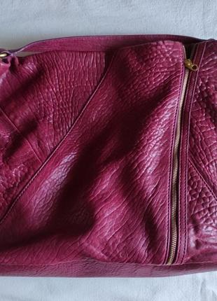 Подлинная большая деловая сумка  от marc jacobs leola zip large hobo.3 фото