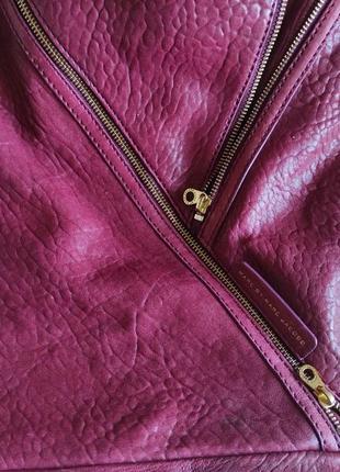 Подлинная большая деловая сумка  от marc jacobs leola zip large hobo.4 фото