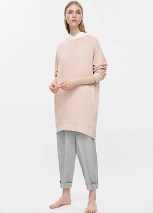 Платье-свитшот с карманами оверсайз кроя  cos