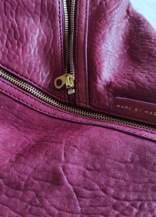 Подлинная большая деловая сумка  от marc jacobs leola zip large hobo.6 фото