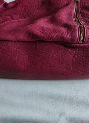 Подлинная большая деловая сумка  от marc jacobs leola zip large hobo.7 фото