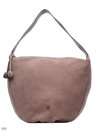 Невероятная кожаная сумка benton winter от  biba с пыльником.