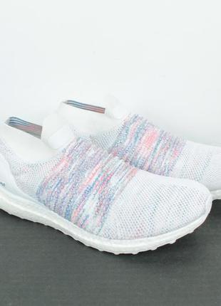 Оригинальные кроссовки adidas ultraboost laceless white