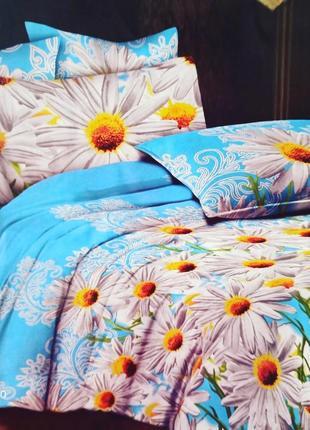 Двухспальный комплект постельного белья из бязи голд