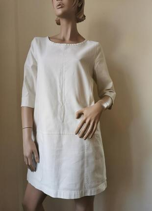 Ganni хлопковое платье