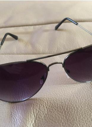 Стильные очки авиаторы капли
