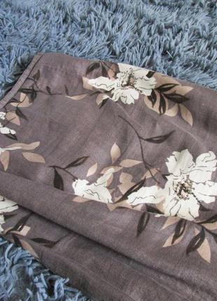 Юбка-макси с бисерной вышивкой