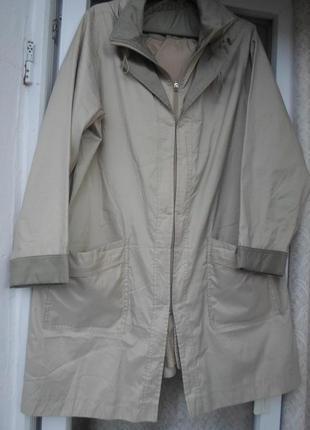 Куртка-ветровка,тренч фирменная 54-56р.англия