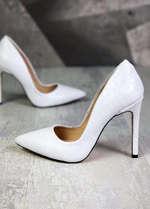 Кожаные классические лодочки туфли 10