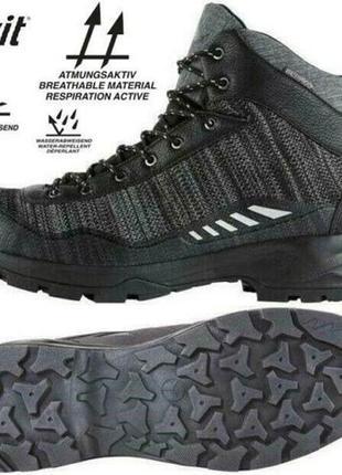 Мужские треккинговые водонепроницаемые ботинки crivit австрия размер 42