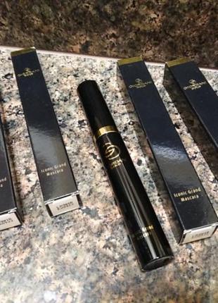 Супер тушь для ресниц giordani gold oriflame ionic grand mascara (силиконовая кисточка)