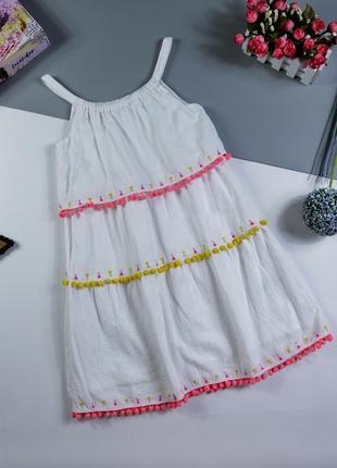 Платье на 8-9 лет/134 см.