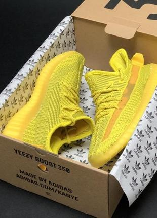 """Женские кроссовки adidas yeezy 350 v3 yellow """"original"""" изи бусты"""