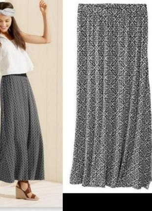 Длинная юбка макси юбка в пол esmara