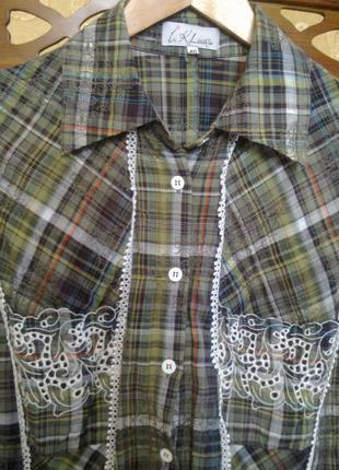 Блуза рубашка «iren klairie», 46 р.