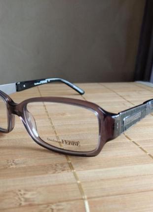 Фирменная оправа под линзы,очки g.ferre gf387 02  италия оригинал