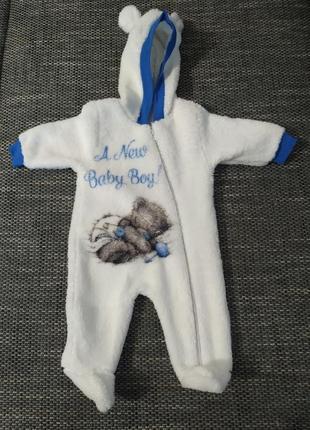 Комбинезон на малыша 0-3 месяца