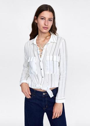 Идеальная льняная рубашка zara