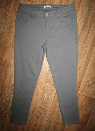 Укороченные джинсы брюки р-р м бренд promod