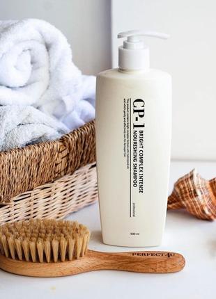 🌸 протеиновый шампунь для волос esthetic house cp-1 bright complex shampoo,500 мл